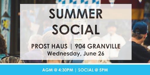 CSMPS AGM + Summer Social