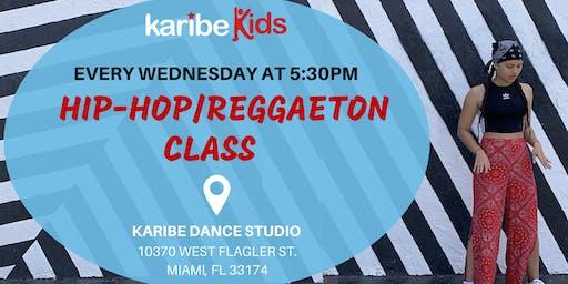 Reggaeton/Hip-Hop for Ages 6+