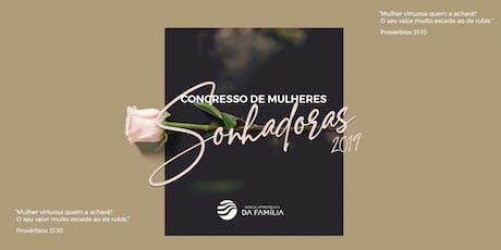 Congresso de Mulheres - SONHADORAS 2019 ingressos