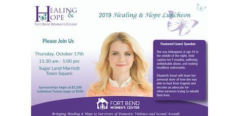 Healing & Hope Luncheon Featuring Elizabeth Smart tickets