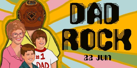 DAD ROCK at The Diving Bell (Cover Night) billets