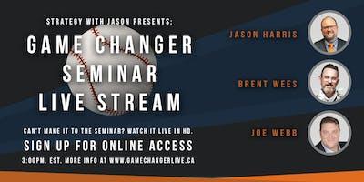 Game Changer Seminar - Live Stream