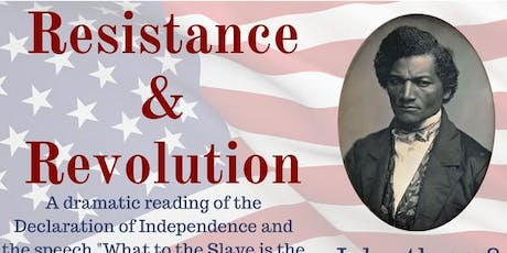 Resistance and Revolution:  2019 tickets