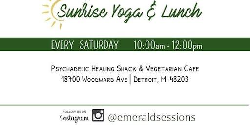 Sunrise Saturdays: Yoga & Vegan Lunch
