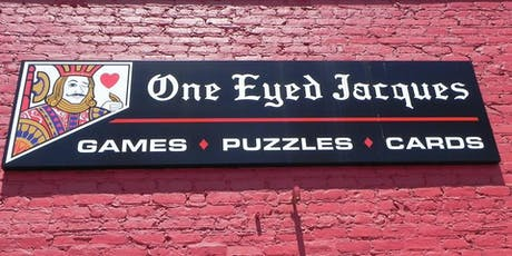 Game Night for Adults with Asperger's/HFA at One Eyed Jacques  tickets
