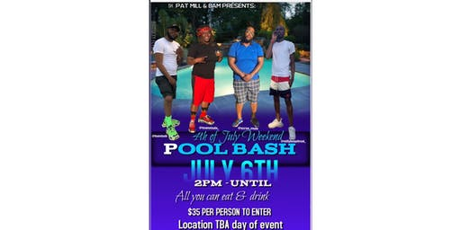 4th of July Weekend Pool Party