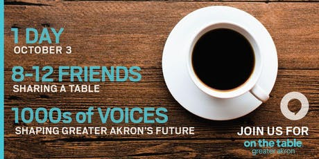 On the Table Greater Akron Host Training tickets