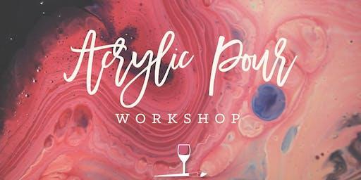 Acrylic Pour Workshop