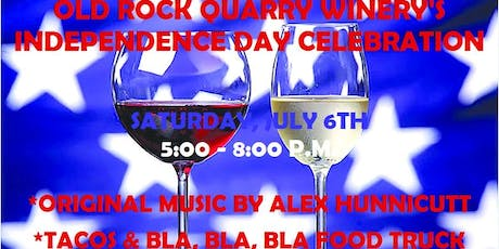 Old Rock Quarry Winery's Independence Day Celebration tickets