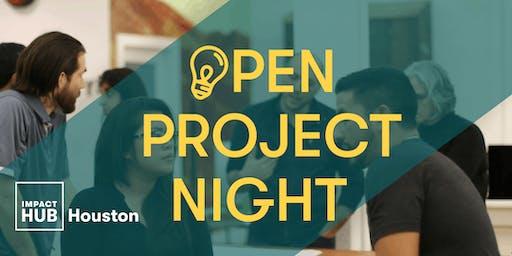 Open Project Night - 13th Edition (Impact Hub Houston & Sketch City)