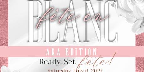 Fête en Blanc: AKA Edition tickets