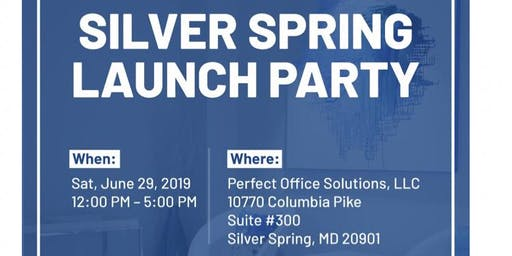 Silver Spring Launch Party!