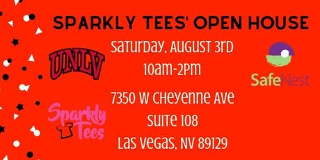Sparkly Tees 3rd Anniversay Open House tickets