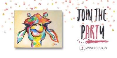Sip + Paint | Abby Giraffe