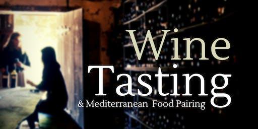 Wine tasting & Mediterranean Food Pairing