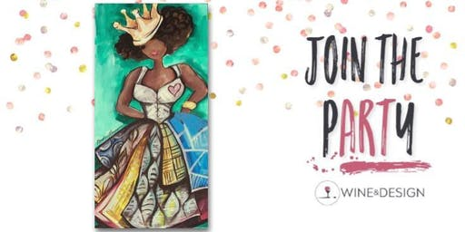 Sip + Paint | Queen of Hearts
