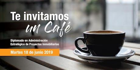 Café Informativo - Diplomado Proyectos Inmobiliarios / Lunes 18 de Junio boletos