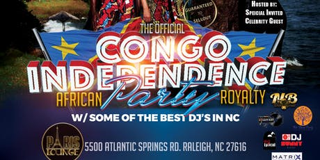 Official Congo DRC Independence Party tickets
