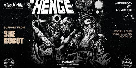 HENGE with support from She Robot tickets