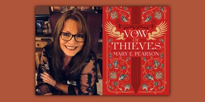 Mary E. Pearson, VOW OF THIEVES with Joanna Hathaway