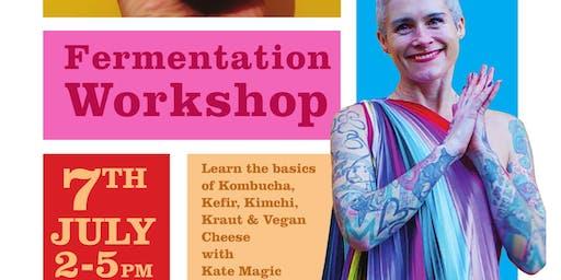 Fermentation Masterclass with Kate Magic