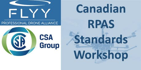 Canadian RPAS Standards Workshop tickets