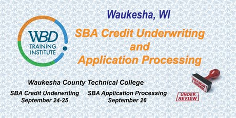 Credit Underwriting/Application Processing - Waukesha tickets