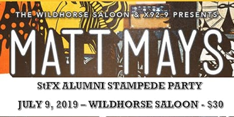 StFX Alumni Stampede Party feat. Matt Mays tickets