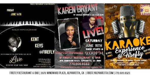 Karen Bryant & Michael Norwood Live for a Special Father's Day Performance at Firefly this Saturday