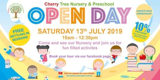 Cherry Tree Nursery & Preschool Open Day
