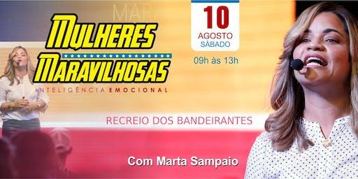 Workshop Mulheres Maravilhosas - Com Marta Sampaio
