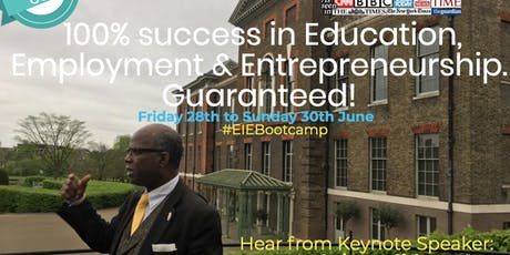 #EIEBootcamp Imperial College London tickets