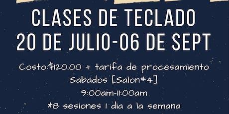 Clases de Teclado 2019 tickets