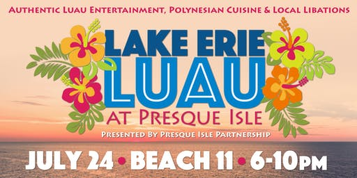 Lake Erie Luau at Presque Isle 2019