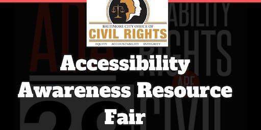 Accessibility Awareness Resource Fair