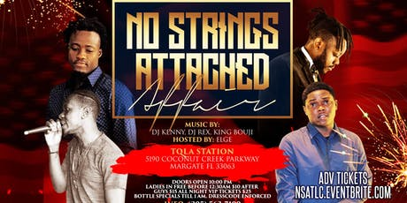 No Strings Attached Affair tickets