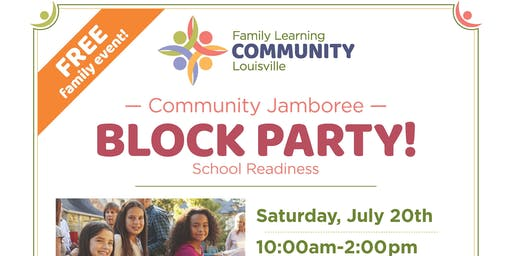 JCPS District 1 Community Jamboree - Block Party
