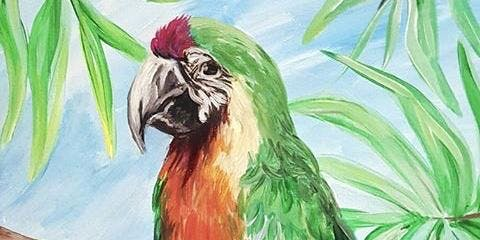 Parrot Paint & Sip Party