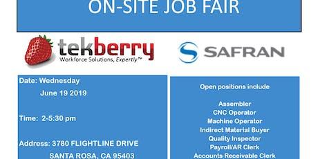 Job Fair - Santa Rosa - Manufacturing/Aerospace tickets
