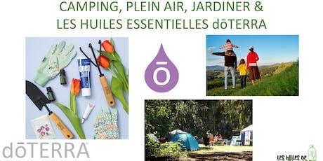 WEBINAIRE: Camping, plein air et jardiner tickets