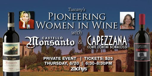 Tuscany's Pioneering Women in Wine with Castello di Monsanto and Capezzana