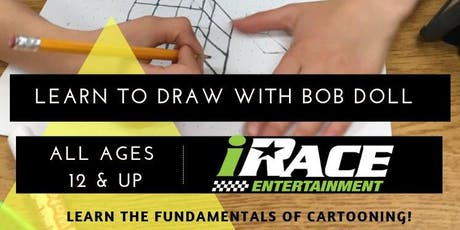 Learn to draw with Bob Doll tickets