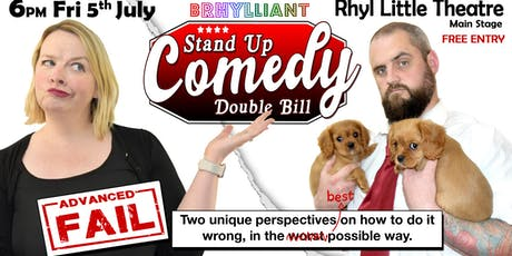 Kevin Berry and Gemma Roberts - Advanced Fail tickets
