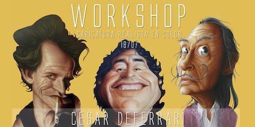 WORKSHOP AEROGRAFÍA . Cesar Deferrari