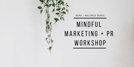 MINDFUL MARKETING INTENSIVE tickets