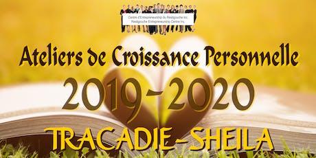 Ateliers Croissance personnelle 2019-2020 billets