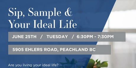Sip, Sample & Your Ideal Life tickets