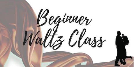 Beginner Waltz Class tickets