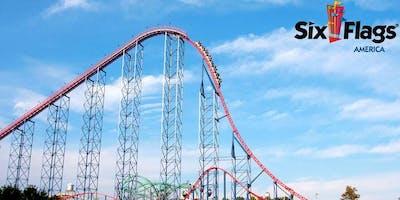 Mishpacha goes to Six Flags America!