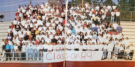 SAHS 1989 Class Reunion- Cheers to 30 Years! tickets